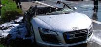 Siniestro Audi r8